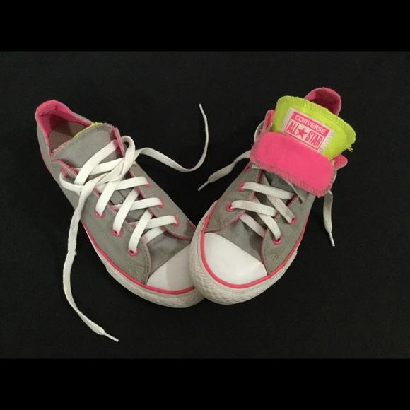 7ec2bca6d02e Converse Shoes | Chuck Taylor All Star Double Tongue Neon | Poshmark